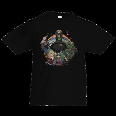 Motiv: Kids T-Shirt Premium FAIR WEAR - Let's Plays - Das Buch Der Abenteuer - Chibi