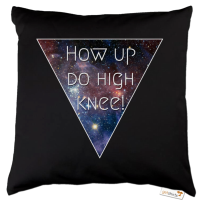 Motiv: Kissen Baumwolle - High Knee Galaxy