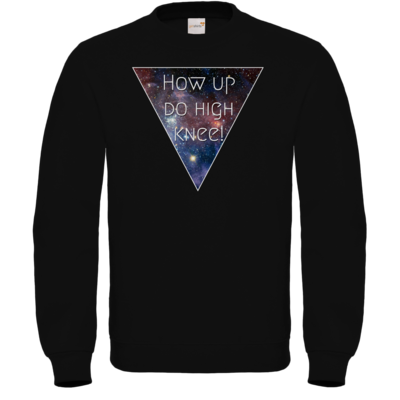 Motiv: Sweatshirt FAIR WEAR - High Knee Galaxy