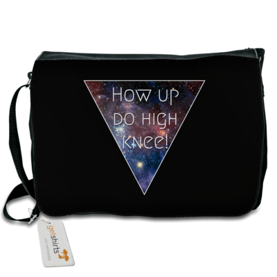 Motiv: Schultertasche - High Knee Galaxy