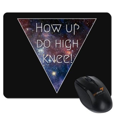 Motiv: Mousepad Textil - High Knee Galaxy