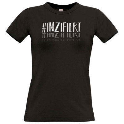 Motiv: T-Shirt Damen Premium FAIR WEAR - Inzifiert