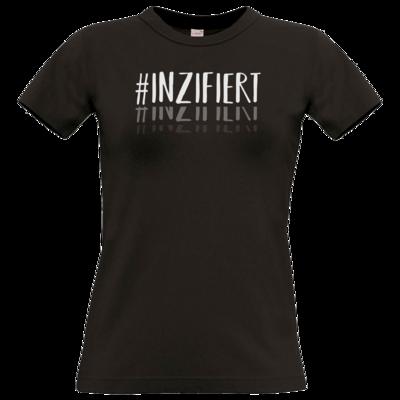 Motiv: T-Shirt Damen Premium FAIR WEAR - Inzifiert