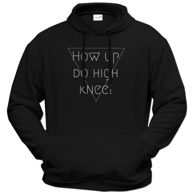 Motiv: Hoodie Premium FAIR WEAR - High Knee