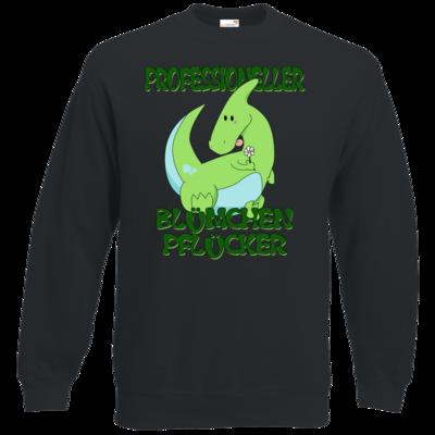 Motiv: Sweatshirt Classic - Bluemchenpfluecker