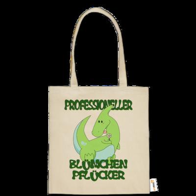 Motiv: Baumwolltasche - Bluemchenpfluecker