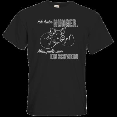 Motiv: T-Shirt Premium FAIR WEAR - Sizzle Brothers - Grillen - Schwein pellen