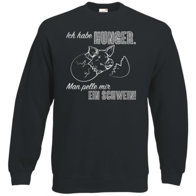 Motiv: Sweatshirt Classic - Sizzle Brothers - Grillen - Schwein pellen