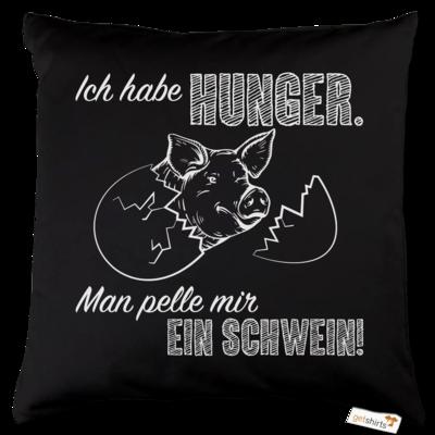 Motiv: Kissen Baumwolle - Sizzle Brothers - Grillen - Schwein pellen
