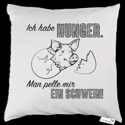 Motiv: Kissen - Sizzle Brothers - Grillen - Schwein pellen