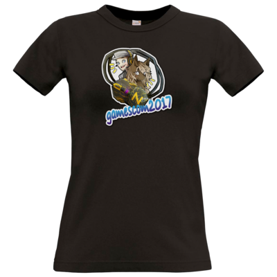 Motiv: T-Shirt Damen Premium FAIR WEAR - Kaddi Luneth Gamescom 2017