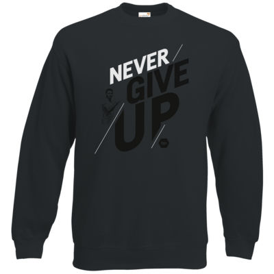 Motiv: Sweatshirt Classic - NeverGiveUp - red
