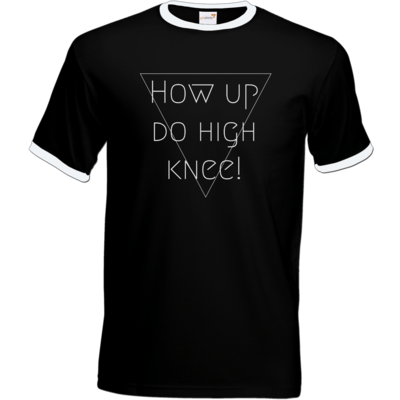 Motiv: T-Shirt Ringer - High Knee