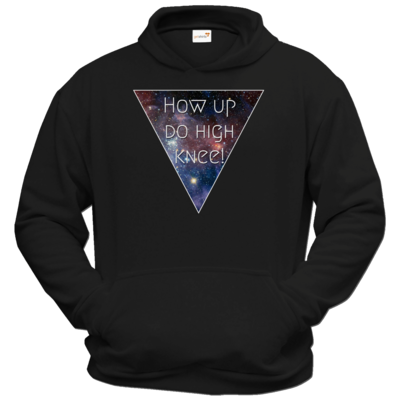 Motiv: Hoodie Classic - High Knee Galaxy