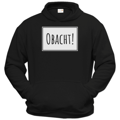 Motiv: Hoodie Classic - Obacht
