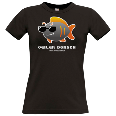 Motiv: T-Shirt Damen Premium FAIR WEAR - Geiler Dorsch