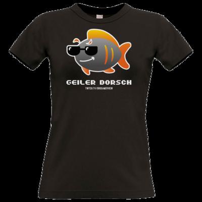 Motiv: T-Shirt Damen Premium FAIR WEAR - Geiler Dorsch