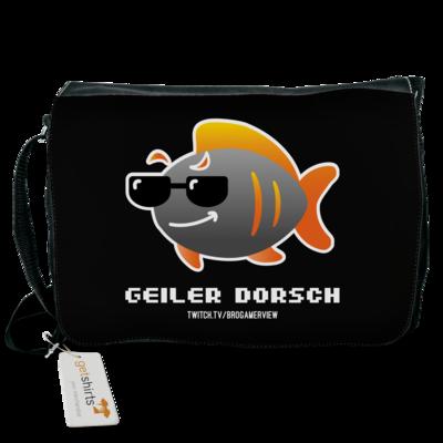 Motiv: Schultertasche - Geiler Dorsch