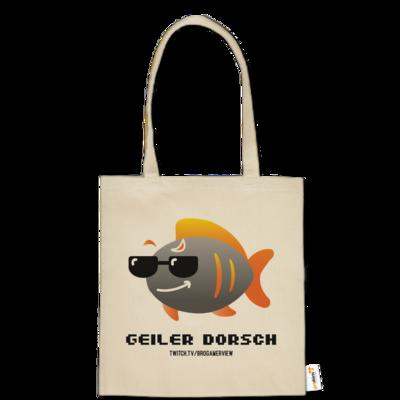 Motiv: Baumwolltasche - Geiler Dorsch