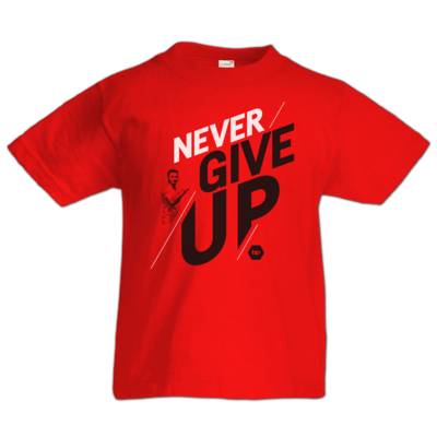 Motiv: Kids T-Shirt Premium FAIR WEAR - NeverGiveUp - red
