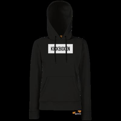 Motiv: Hoodie Damen Classic - SMD - Kickboxen