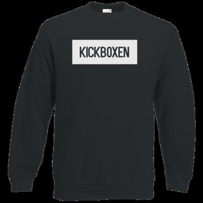 Motiv: Sweatshirt Classic - SMD - Kickboxen