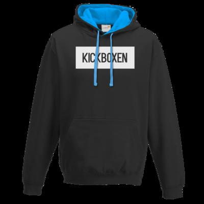 Motiv: Two-Tone Hoodie - SMD - Kickboxen