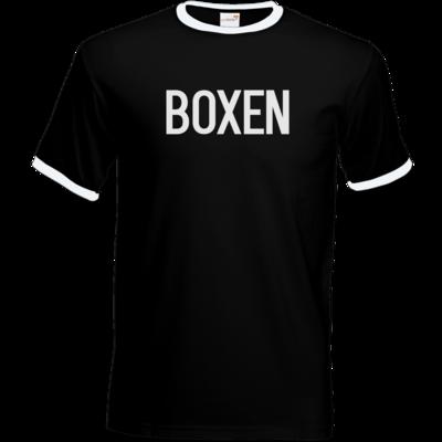 Motiv: T-Shirt Ringer - SMD - Boxen