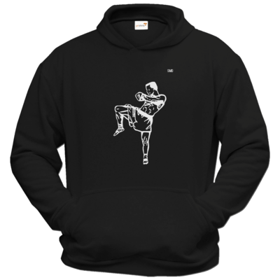 Motiv: Hoodie Classic - SMD - Kickboxer