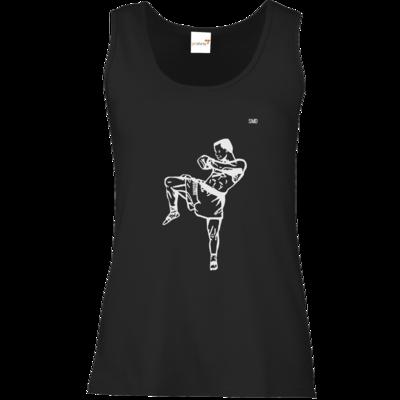 Motiv: Tank Top Damen Classic - SMD - Kickboxer
