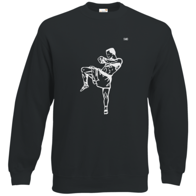 Motiv: Sweatshirt Classic - SMD - Kickboxer