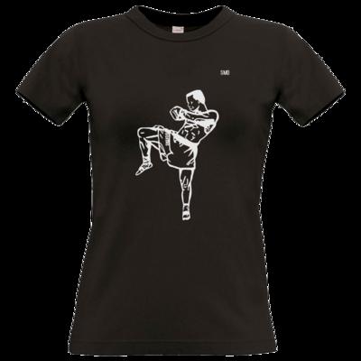 Motiv: T-Shirt Damen Premium FAIR WEAR - SMD - Kickboxer