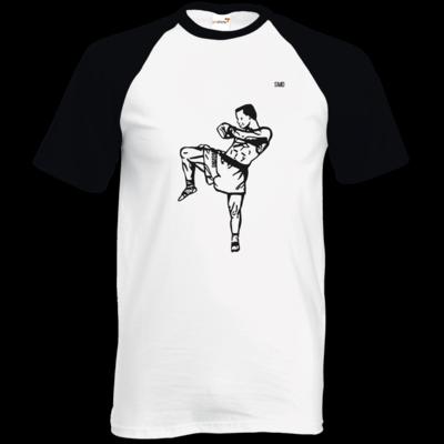 Motiv: TShirt Baseball - SMD - Kickboxer