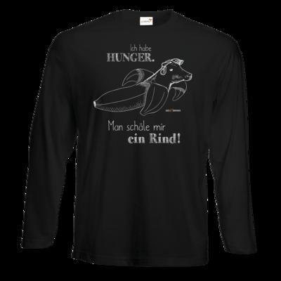Motiv: Exact 190 Longsleeve FAIR WEAR - SizzleBrothers - Grillen - Hunger Rind schälen