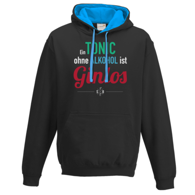Motiv: Two-Tone Hoodie - SizzleBrothers - Grillen - Gin - ginlos 2