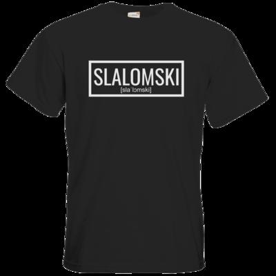 Motiv: T-Shirt Premium FAIR WEAR - Inzaynia - Slalomski