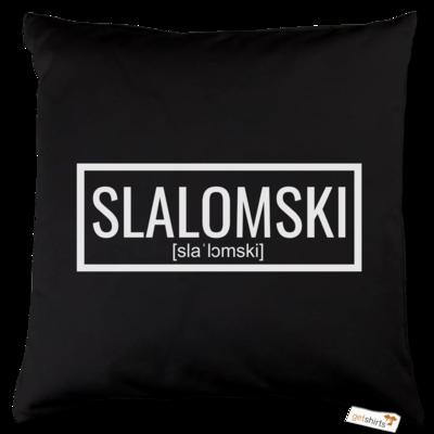 Motiv: Kissen Baumwolle - Inzaynia - Slalomski