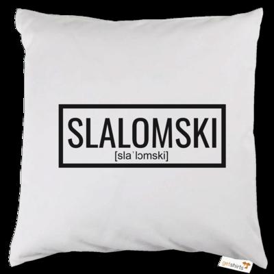 Motiv: Kissen - Inzaynia - Slalomski