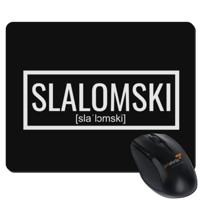Motiv: Mousepad Textil - Inzaynia - Slalomski