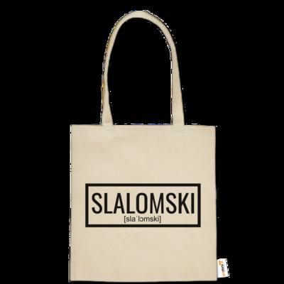 Motiv: Baumwolltasche - Inzaynia - Slalomski