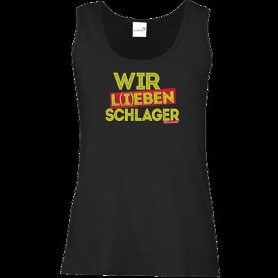 Motiv: Tank Top Damen Classic - Wir l(i)eben Schlager