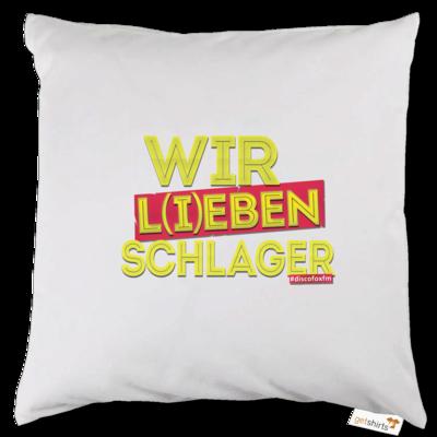 Motiv: Kissen - Wir l(i)eben Schlager
