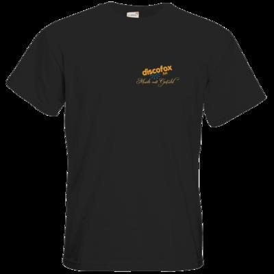 Motiv: T-Shirt Premium FAIR WEAR - Discofox FM - Musik mit Gefuehl