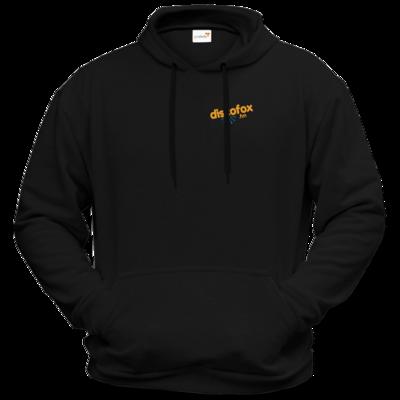 Motiv: Hoodie Premium FAIR WEAR - Discofox FM - Logo