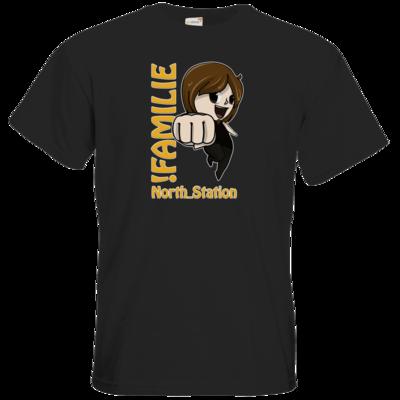 Motiv: T-Shirt Premium FAIR WEAR - North_Station - !Familie