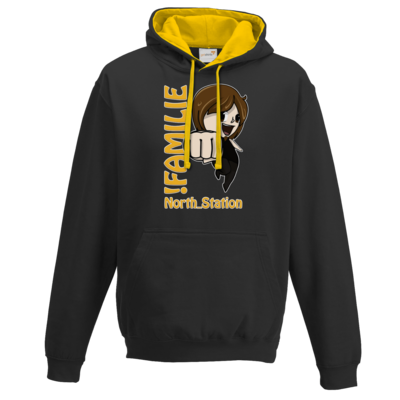 Motiv: Two-Tone Hoodie - North_Station - !Familie
