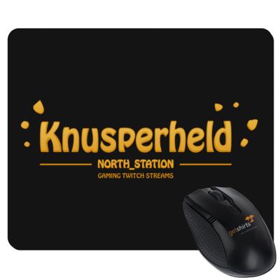 Motiv: Mousepad Textil - North_Station - Knusperheld