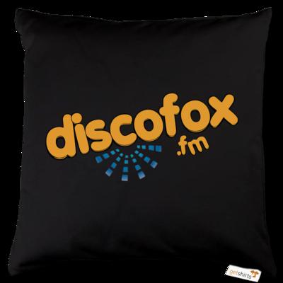 Motiv: Kissen Baumwolle - Discofox FM - Logo XL