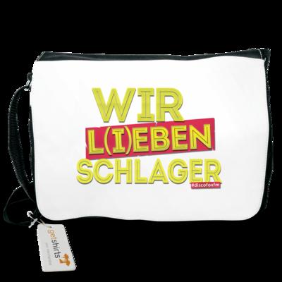 Motiv: Schultertasche - Wir l(i)eben Schlager