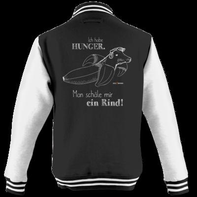 Motiv: College Jacke - SizzleBrothers - Grillen - Hunger Rind schälen